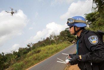 Миротворцы ООН активно осваивают новые технологии, в том числе – беспилотники.