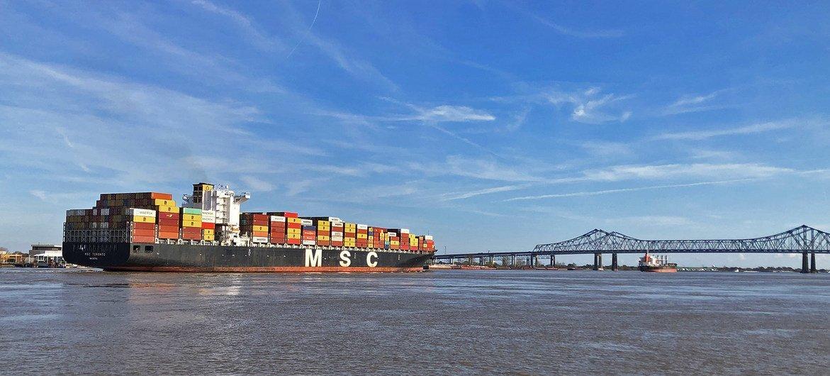 Espera-se que a recuperação continue no segundo trimestre de 2021, com o valor do comércio global de bens e serviços estimado em US$ 6,6 trilhões