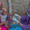 Mtoto akichunguzwa kama ana malaria jimbo la Adamawa, Nigeria