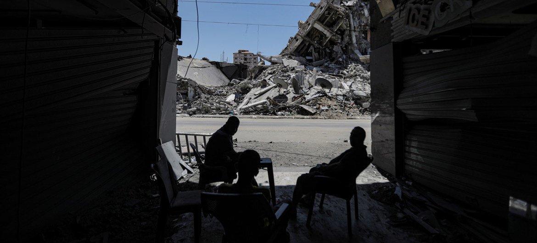 Las recientes hostilidades han dejado una destrucción generalizada en Gaza.