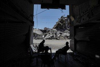今年五月的巴以冲突升级对加沙地带造成严重破坏。