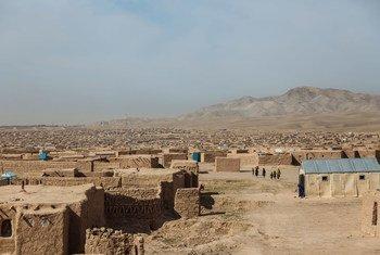 Около 30 тысяч внутренних переселенцев в Афганистане обрели убежище в этом поселке, расположенном под Гератом.