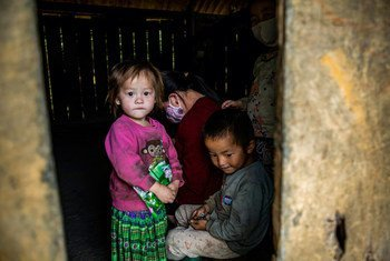 A family from the Hmong ethnic minority in Vietnam.