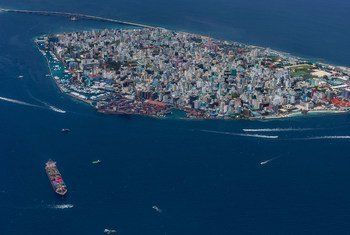 The capital city of the Maldives, Malé, went into full lockdown following the first positive case of COVID-19.