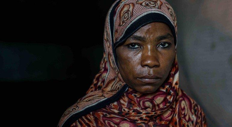 Fatima, 45 ans, mère de onze enfants, s'est enfuie de chez elle il y a trois ans.