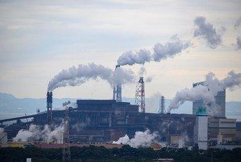 ONU lembra que a poluição do ar também agrava a crise climática