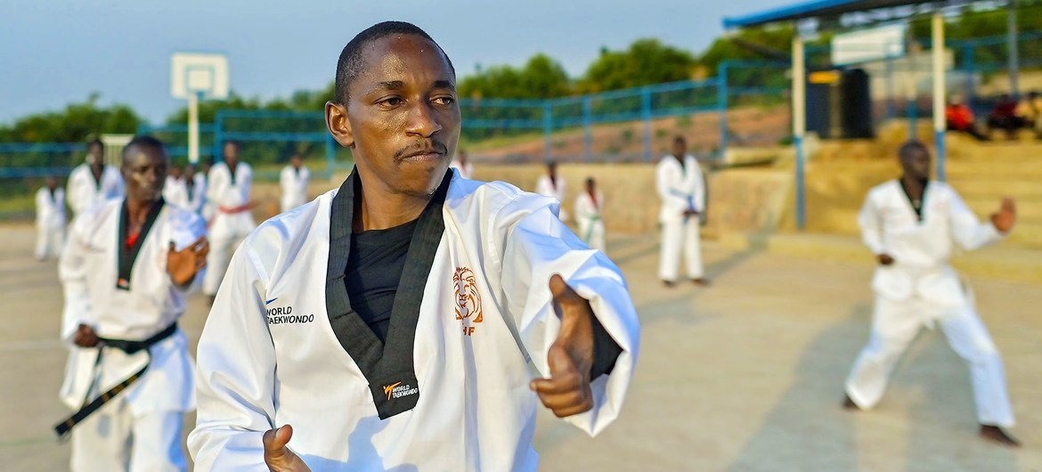 Burundian Parfait Hakizimana will take the stage in Tokyo as part of the Refugee Paralympic Team.