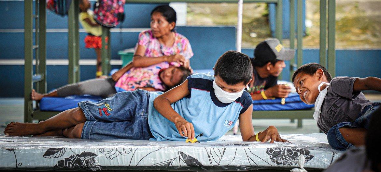 Refugiados e migrantes venezuelanos no Brasil, protegidos contra pandemia de Covid-19