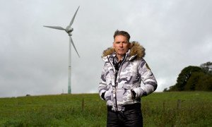 Dale Vince is chairman of Forest Green Rovers and owner of Ecotricity, a sustainable energy company.