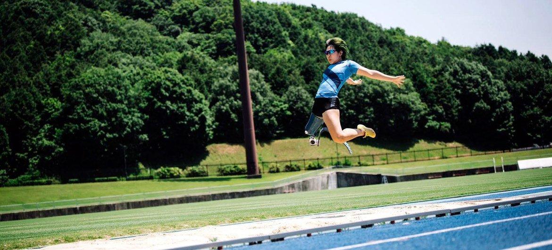 Kaede Maegawa is representing Japan astatine  the Tokyo 2020 Paralympic Games.