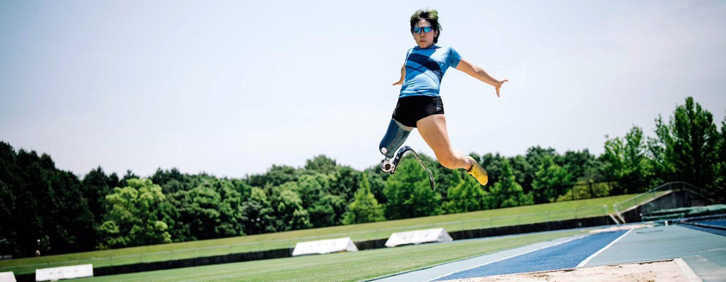 Kaede Maegawa is competing for Japan at the Tokyo 2020 Paralympic Games.