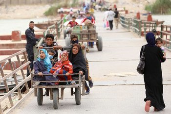 Voters in Iraq go to the polls on 10 October 2021.