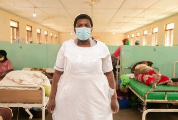 Eunice Marorongwe recovered from COVID-19 and is back at work helping patients.