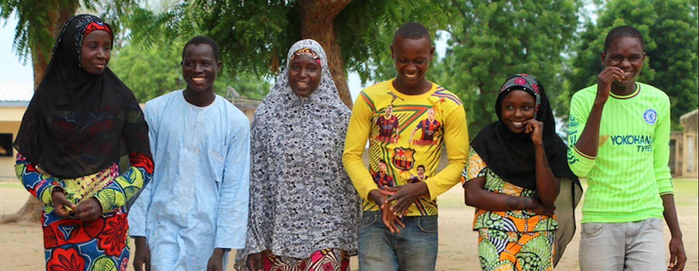 Young people in Cameroon are key to promoting a peaceful culture in the West African country.