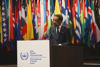 Чиле Эбое-Осуджи, Председатель Международного уголовного суда