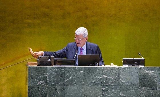 Volkan Bozkir foi presidente da Assembleia Geral desde setembro do ano passado