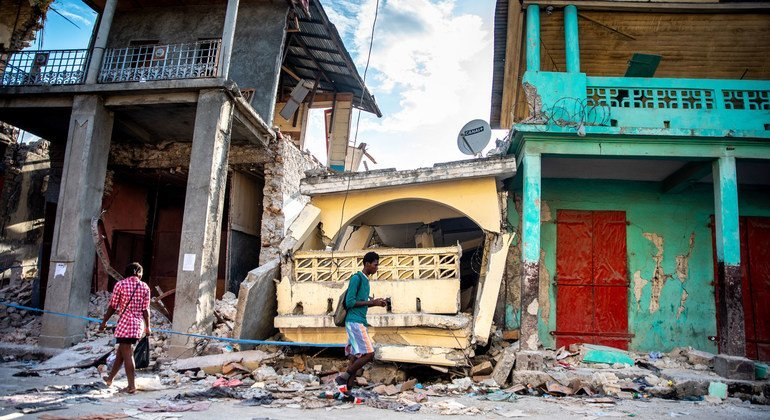 Haiti is recovering from a series of crises including an earthquake which struck the country in August 2021.