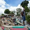 The community of Les Cayes was destroyed when a 7.2-magnitude earthquake struck Haiti.