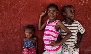 Enfants vivant dans un camp de personnes déplacées en Haïti. (archives)