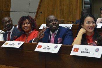 Des jeunes parlementaires du monde entier réunis à Asunción, au Paraguay, pour la sixième Conférence mondiale des jeunes parlementaires de l'UIP. (archives)