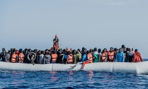 Migrants continue to make the perilous sea crossing from Libya to Europe.