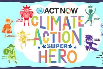 UN campaign empowers kids to take climate action and protect the planet.