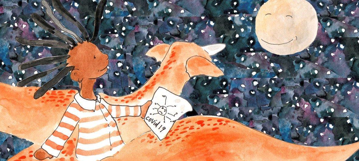 """""""Ты - мой герой""""  - эта увлекательная  книга рассказывает детям о том, как защититься от коронавируса."""