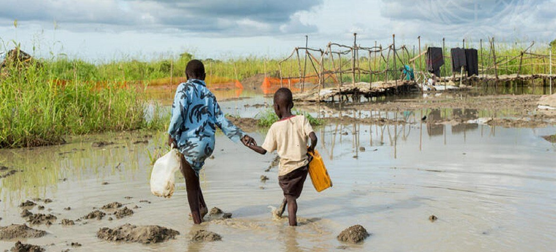 O Sudão do Sul é o país da África com a maior crise de deslocados