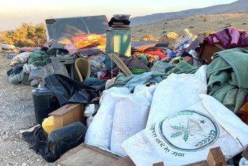 42 فلسطينيا بمن فيهم 24 طفلا، فقدوا منازلهم في حمصة بسبب عمليات الهدم التي تقوم بها السلطات الإسرائيلية