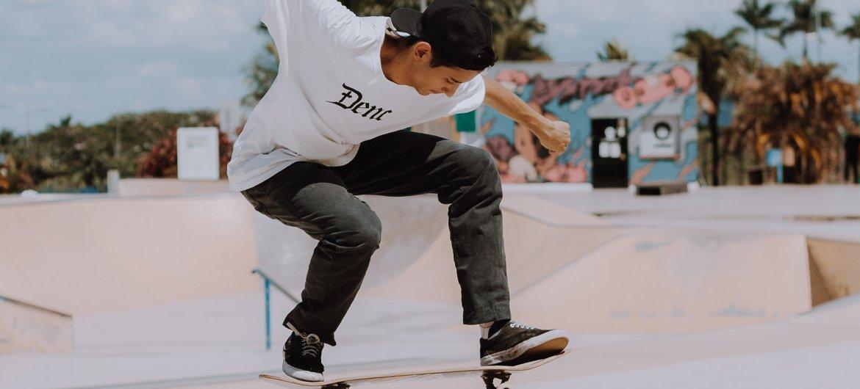 滑板等广受青年群体欢迎的运动将在东京首次亮相奥运会赛场。