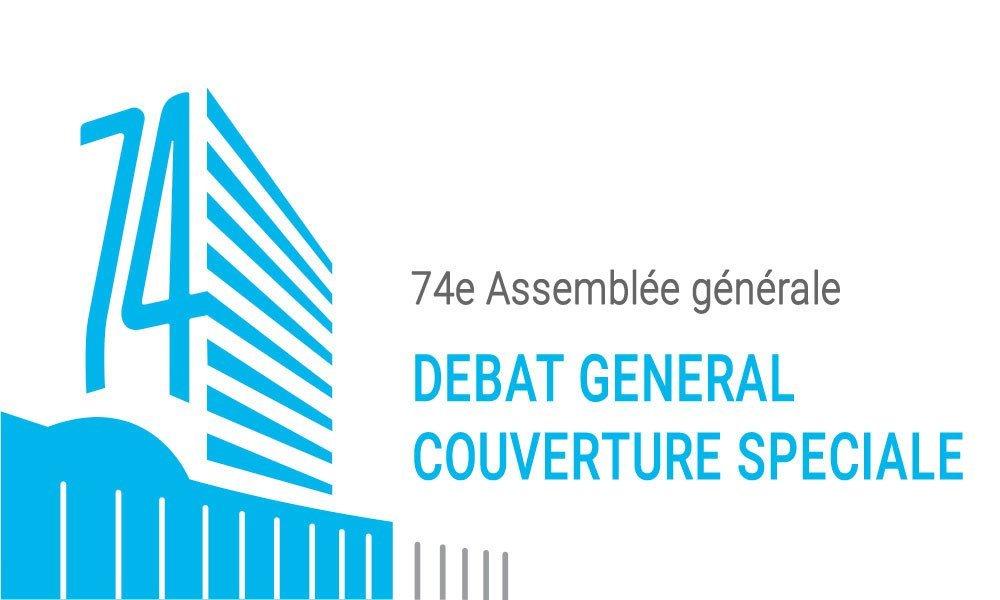 Débat général de la 74e session de l'Assemblée générale des Nations Unies