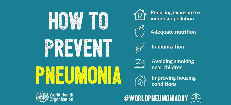 How to prevent pneumonia