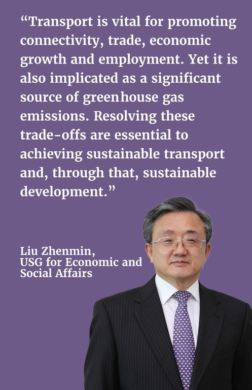 Transport is vital for promoting connectivity, trade, economic growth and employment. Yet it is also implicated as a significant source of green-house gas emissions. Resolving these trade-offs are essential to achieving sustainable transport and, through that, sustainable development.