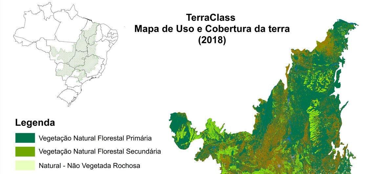 Projeto FIP Monitoramento do Cerrado desenvolveu e disponibiliza dados significativos e públicos sobre o desmatamento
