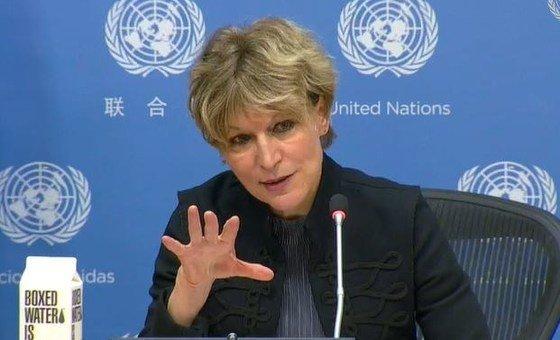 Agnes Callamard, UN Special Rapporteur on extrajudicial, summary or arbitrary executions (file photo).