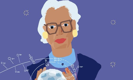 Katherine Johnson was the first African-American woman to attend her graduate school and was one of few African-American women to work on the NASA space program.