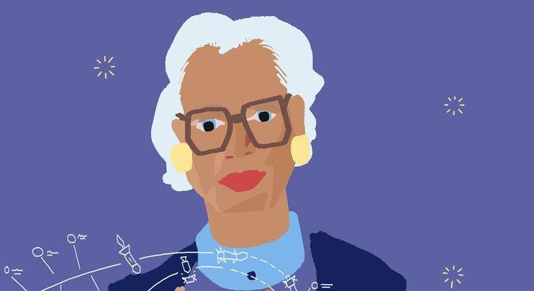 Кэтрин Джонсон - одна из первых афроамериканок - сотрудниц космической программы НАСА