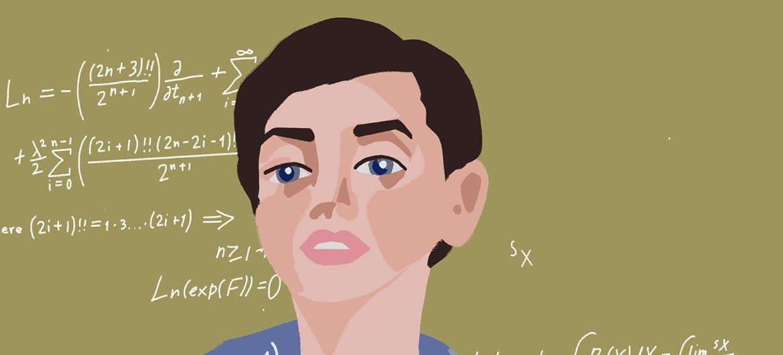 Maryam Mirzakhani foi a primeira mulher a ganhar a medalha Fields, o prêmio de maior prestígio em matemática.