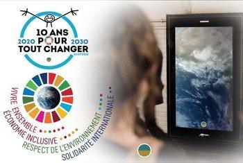 17 Objectifs de développement durable dans plus de 800 gares et dans le métro de quatre grandes villes en France grâce à Elyx, l'Ambassadeur digital des Nations Unies