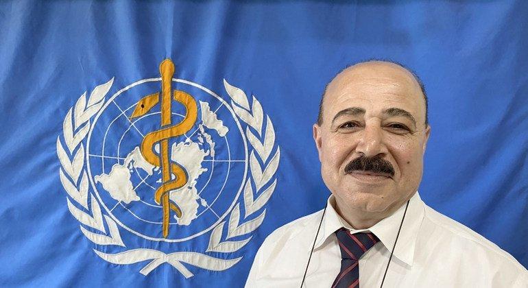 عبد الناصر صبح، مدير مكتب منظمة الصحة العالمية في غزة