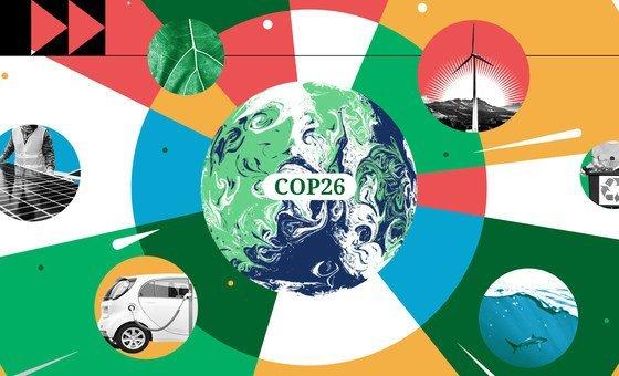 Líderes mundiais encontram-se em Glasgow, na Escócia, para a 26ª Conferência das Nações Unidas sobre Mudança Climática, COP26