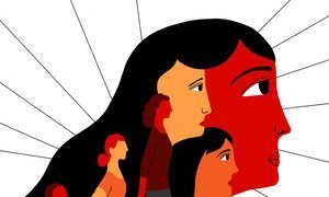 Imagen conmemorativa del Día Internacional de la eliminación de la violencia contra la mujer.
