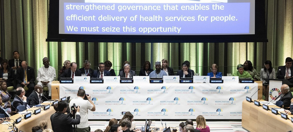 General Assembly Seventy-fourth session High-level meeting on universal health coverage. (23 September 2019)