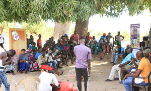 Psychodrama being used by IOM as a tool to shed light on the mental health challenges faced by returnees