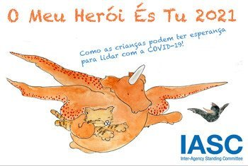 Novo livro busca ajudar as crianças a manterem a esperança e continuarem positivas durante a pandemia