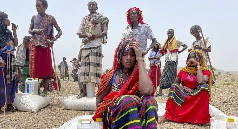 Tigray: Food aid reachesAfar and Amhara, but situationstill'dire'