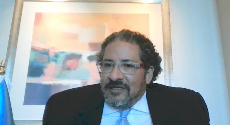 القاضي حاتم علي، الممثل الإقليمي لمكتب الأمم المتحدة المعني بالمخدرات والجريمة لدول مجلس التعاون الخليجي