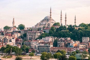 مدينة إسطنبول، تركيا.