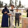 距阿勒颇60公里的代尔哈费尔的人们严重依赖世界粮食计划署的粮食援助来满足他们的日常需求。