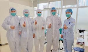 新冠疫情期间的深圳医务工作者